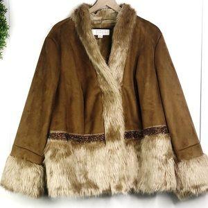 Badgley Mischka American glamour coat